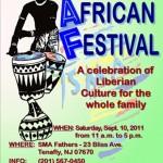 Tenafly African Festival September 10