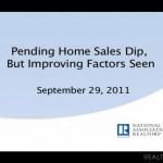 Pending Home Sales Decline in August but Remain Above a Year Ago