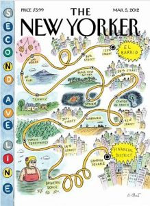 Tenafly As Shown On The Cover Of The New Yorker