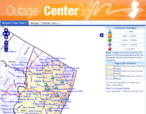 Third Power Outage Hits Tenafly This Summer
