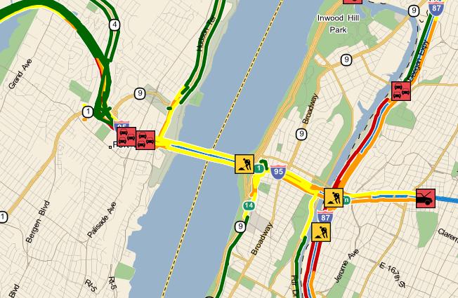 George Washington Bridge Closures