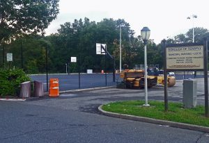Tenafly Basketball Courts Being Resurfaced