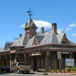 The old Tenafly Train Station Turned into the Bustling Cafe Angelique