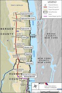 Senators Meet  Bergen County Mayors  To Discuss Northern Branch of the Hudson-Bergen Light Rail