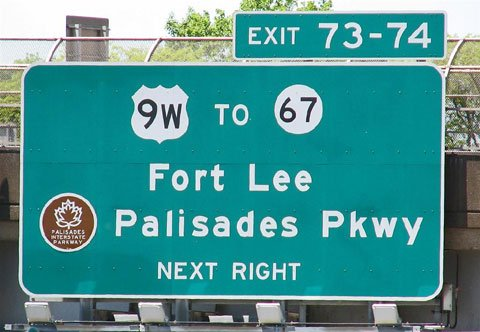 Fort Lee - highways
