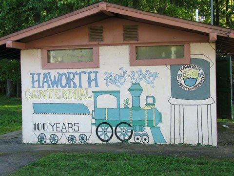 The pride of Haworths heritage is the local dedication to community service
