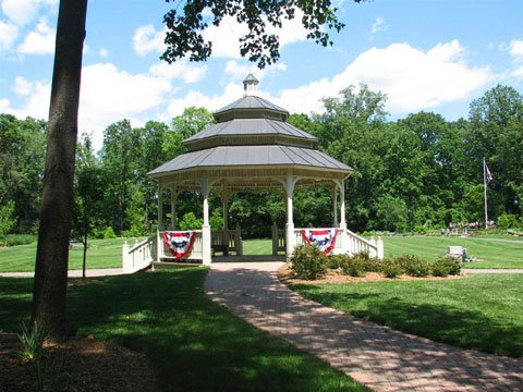 Old Tappan - Oakes Park - the Gazebo