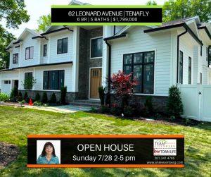 Team Eisenberg Open Houses Sunday 7/28