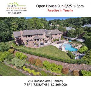 Team Eisenberg Open Houses Sunday 8/25