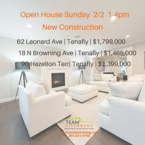 Open Houses Sunday 2/2