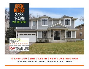 Team Eisenberg's Super Sunday Open House February  23