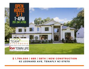 Team Eisenberg's Lucky Sunday Open House March 1st